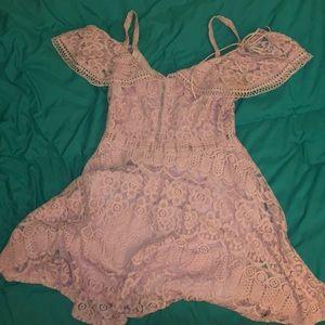 Boohoo lace summer dress